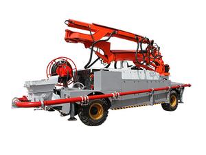 工程车底盘混凝土喷浆机组