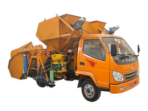 YZLP遙控全自動上料噴漿車